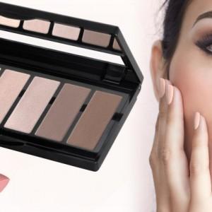 Nude Style Make-up. Lidschatten und Lippenstift von IsaDora